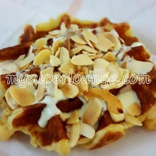 24th birthday - prince waffle almond