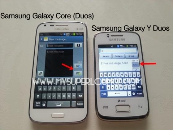 samsung galaxy core duos 10
