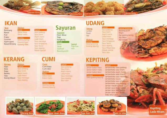 nih menu seafood trisulo 234 kelapa gading (hasil googling)