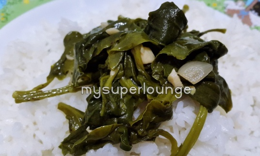 seafood trisulo 234 kelapa gading - daun dewa tumis bawang putih