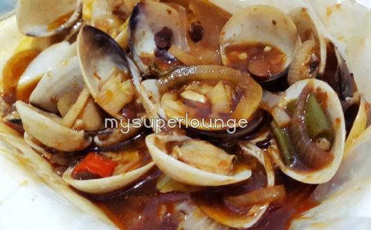 seafood trisulo 234 kelapa gading - kerang kepa tumis tauco