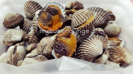 seafood trisulo 234 kelapa gading - kerang dara rebus