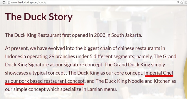 the duck king halal kah